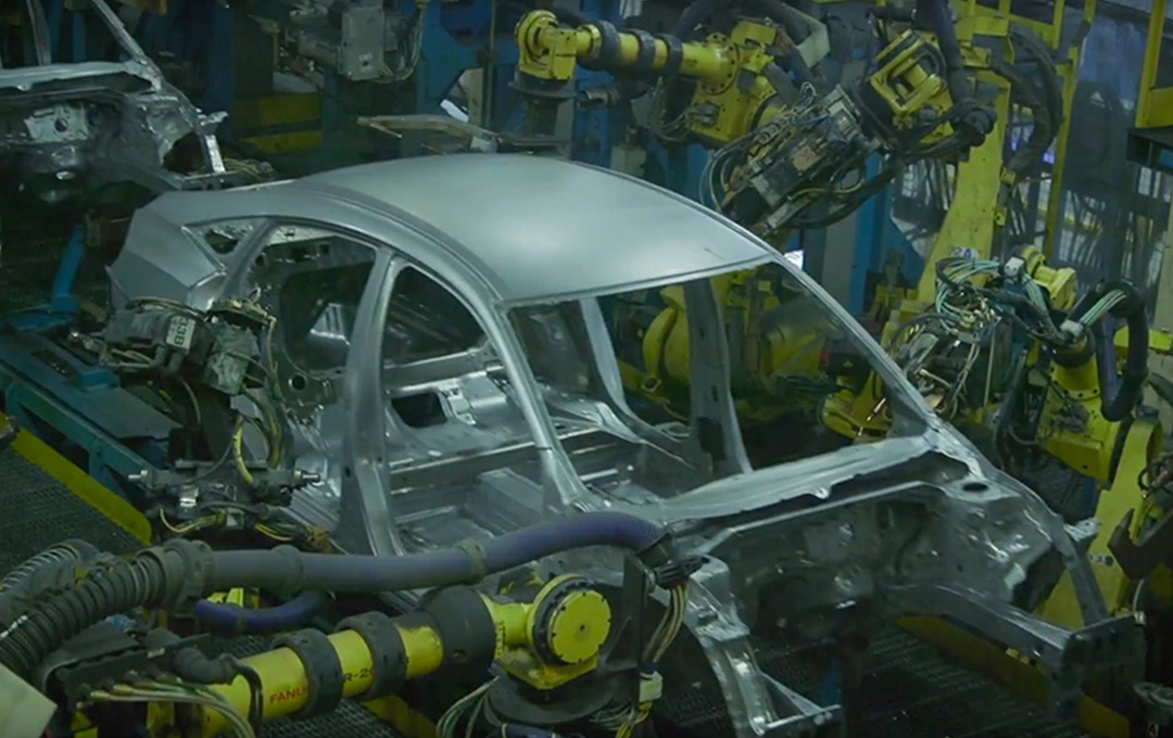 A video of the Honda manufacturing line.